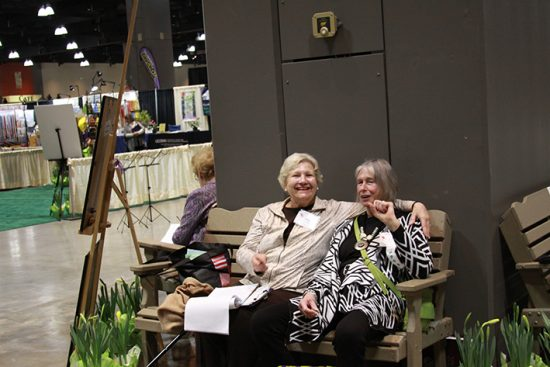 2018 CT Flower Show Pre-Opening Photo